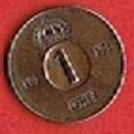 SWEDEN  #  1 ØRE FROM 1953 - Suède