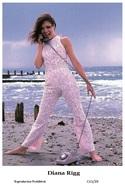 DIANA RIGG - Film Star Pin Up PHOTO POSTCARD - C41-39 Swiftsure Postcard - Artistas