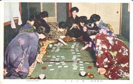 POSTAL   JAPON  - PLAYING CARD - Japón