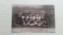 3/  STADE OLYMPIQUE DE GIVORS-saison 1928-1929-sous Champion Du Lyonnais -2ème Série - Givors