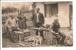 62 - Créquy - Industrie Des Louches Et Robinets En Bois /j - France