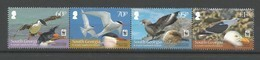 2012 South Georgia WWF South Atlantic Seabirds Set (** / MNH / UMM) - W.W.F.