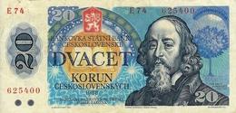 20  KORUM  CECOSLOVACCHIA  - ANNO / 1988. - Tchécoslovaquie
