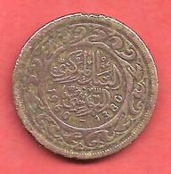 20 Millim , TUNISIE , Bronze , AH 1380 , 1960 , N° KM # 307 - Tunisie