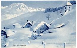 ANDERMATT Partie Im Winter - UR Uri
