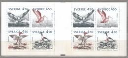 BIRDS SWEDEN 1992 Join Issue Booklet Mi 1742-1745 MNH (**) #B60 - Non Classés