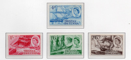 1969 - TRISTAN DA CUNHA - Yv.  Nr. 124/127 - NH - (UP131.1) - Tristan Da Cunha