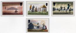 1969 - TRISTAN DA CUNHA - Yv.  Nr. 128/131 - NH - (UP131.1) - Tristan Da Cunha