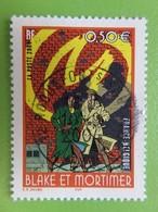 "Timbre France YT 3669 - Bande Dessinée Blake Et Mortimer - ""La Marque Jaune"" - 2004 - Cachet Rond - France"
