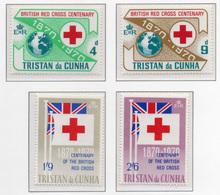 1970 - TRISTAN DA CUNHA - Yv.  Nr. 133/136 - NH - (UP131.1) - Tristan Da Cunha