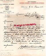 PAYS BAS- RARE LETTRE MANUSCRITE SIGNEE J.J. LATENSTEIN VAN VOORST- SCHRODER SCHYLER-VINS-4 GELDERSCHE KADE-1906 - Netherlands