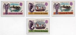 1970 - TRISTAN DA CUNHA - Yv.  Nr. 137/140 - NH - (UP131.1) - Tristan Da Cunha