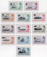 1970 - TRISTAN DA CUNHA - Yv.  Nr. 141/152 - NH - (UP131.1) - Tristan Da Cunha