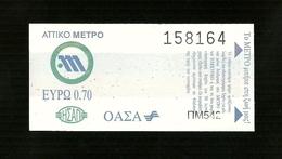 Biglietto Autobus-Metro Grecia - Atene - Autobus