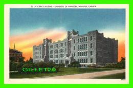 WINNIPEG, MANITOBA - SCIENCE BUILDING, UNIVERSITY OF MANITOBA - VALENTINE EDY COMPANY LTD - - Winnipeg