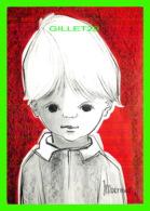 ENFANTS - DESSIN DE MOERMAN - CIRCULÉE EN 1970 - EVA - - Portraits