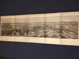 DEPLIANT PANORAMIQUE PLANCE PANORAMA GUERRE 1914 PAR G. MALFROY ETAIN A SAINT MIHIEL ET LIMEY FRESNES CHAMBLEY - Cartes Topographiques