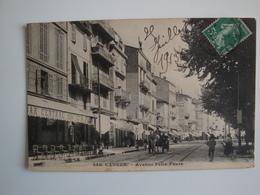 06 Cannes,avenue Félix-Faure,bar Central,calèche 1913 - Cannes