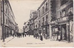 RENNES - Rue Saint-Malo - Tabac - Animé - Très RARE - Rennes