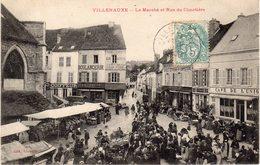 VILLENAUXE - Le Marché Et Rue Du Cimetière - Autres Communes