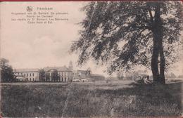 Hemixem Hemiksem Krijgsdepot Van St. Bernard De Gebouwen Noord En Oostkant ZELDZAAM Geanimeerd (grote Kreuk) - Hemiksem