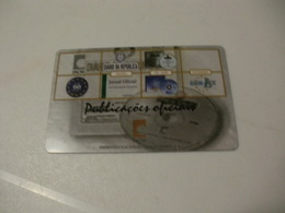Instituto Nacional Casa Da Moeda Portugal Portuguese Plastic Pocket Calendar 2002 - Calendriers