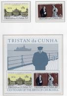 1974 - TRISTAN DA CUNHA - Yv.  Nr. 195/196 + BF - NH - (UP131.2) - Tristan Da Cunha