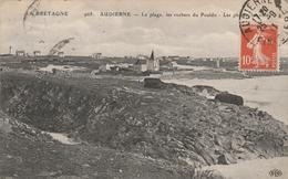 Finistère . Audierne . La Plage , Les Rochers Du Pouldu . Les Phares, Les Villas . - Audierne
