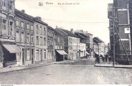 Wavre-Waver/-cpa De La Rue Du Chemin De Fer - Wavre