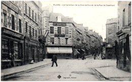 61 FLERS - Le Carrefour De La Grande Rue Et De La Rue De Domfront - Flers