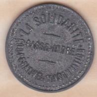 44 . Loire Atlantique Basse Indre. La Solidarité , Coopérative De Consommation – 2 Francs - Monétaires / De Nécessité