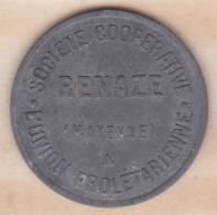 53. Mayenne . Société Coopérative RENAZE . L Union Prolétaire 1 Kg 500 - Monétaires / De Nécessité
