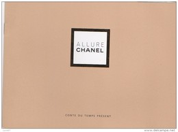 CHANEL ALLURE  CONTE DU TEMPS PRESENT 1996  Carnet - Perfume Cards