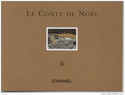 CHANEL  CONTE DE NOEL 1997 Max Cabanes  Rare Carnet - Perfume Cards