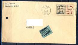 X109- Postal Used Cover. Posted From USA To Pakistan. - Postal History