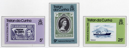 1975 - TRISTAN DA CUNHA - Yv.  Nr. 205/207 - NH - (UP131.3) - Tristan Da Cunha