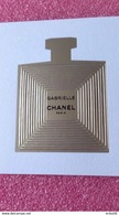 CHANEL GABRIELLE - Perfume Cards