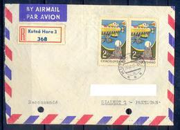X112- Postal Used Cover. Posted From Czechoslovakia To Pakistan. - Czechoslovakia