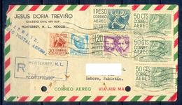X117- Postal Used Cover. Posted From Mexico To Pakistan. - Mexico
