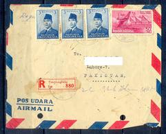 X119-  Postal Used Cover. Posted From Indonesia To Pakistan. Famous People. House. - Indonesia