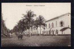 AFRIQUE - DAHOMEY - Cotonou - Avenue Centrale - Dahomey