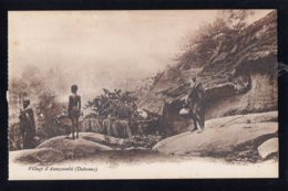 AFRIQUE - DAHOMEY - Village D'Assazoumbé - Dahomey
