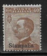 Italy Aegean Islands Stampalia Scott # 7 MNH Italy Stamp Overprinted, 1912 - Aegean (Simi)