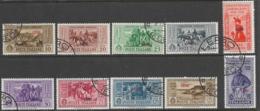 Italy Aegean Islands Lero Scott # 17-26 Used Italy Garibaldi Issue Overprinted, 1932, CV$350.00 - Aegean (Lero)