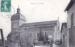 01 - Ain -  MOLLON - VILLIEU  - LOYES  - L Eglise - Autres Communes
