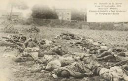 Militaria : MAURUPT : Marne - Champ De Bataille à L'est Du Chemin De Pargny-sur-saulx - War 1914-18