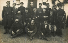 Lécourt - Carte Photo 1915 - Val De Meuse - 67ème Et 38ème Régiment - Soldats Militaires - Militaria - Belle Animation - Frankreich