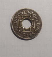 TOKEN GETTONE THE O. K. MINT VENDER GOOD FOR ONE PACKET MINT - Noodgeld