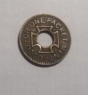 TOKEN GETTONE THE O. K. MINT VENDER GOOD FOR ONE PACKET MINT - Monétaires/De Nécessité