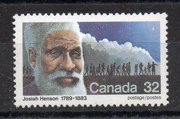 CANADA - 1983 - JOSIAH HENSON - ABOLITION OF SLAVERY - ABOLITION DE L'ESCLAVAGE - - 1952-.... Règne D'Elizabeth II